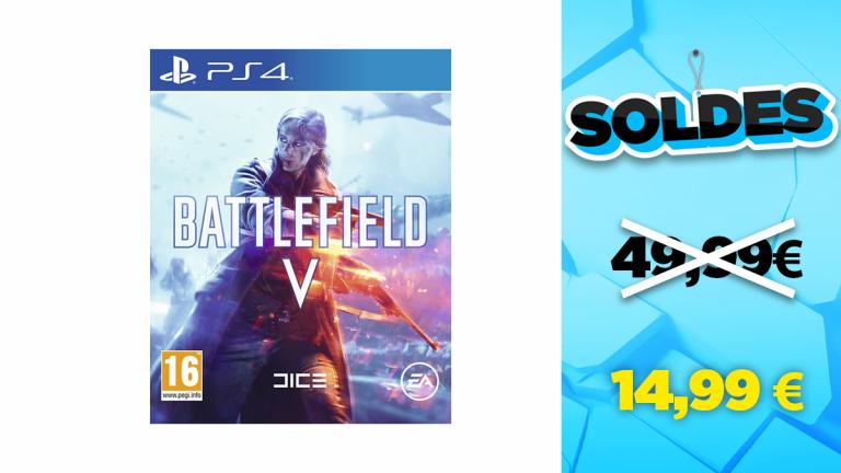 Soldes PS4 : Battlefield V à -70%