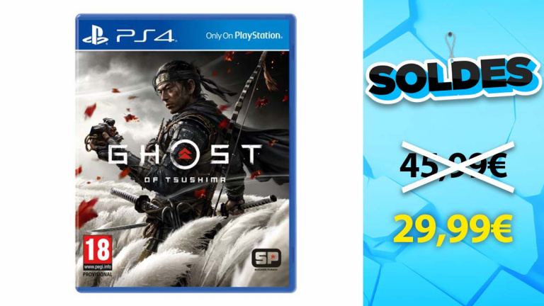 Soldes PlayStation : Ghost of Tsushima en promotion à moins de 30€