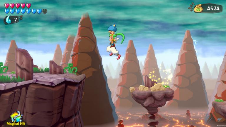 Wonder Boy : Asha in Monster World précise sa date de sortie