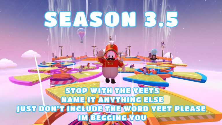 Fall Guys : Mediatonic dévoile un peu la saison 3.5