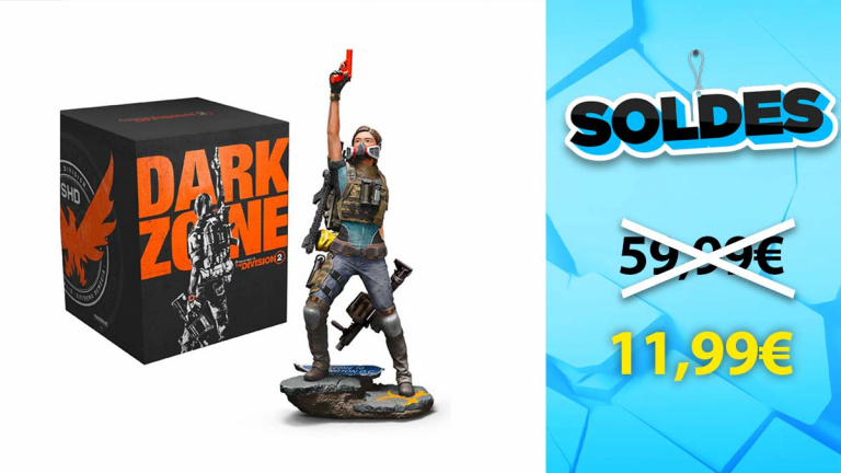 Soldes Gaming : The division 2 Édition Collector à seulement 11€