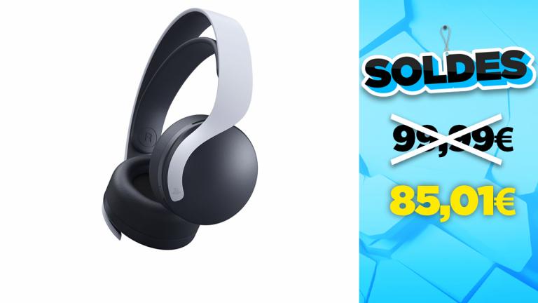 Le casque officiel PS5 Pulse 3D de nouveau disponible avec une promotion intéressante