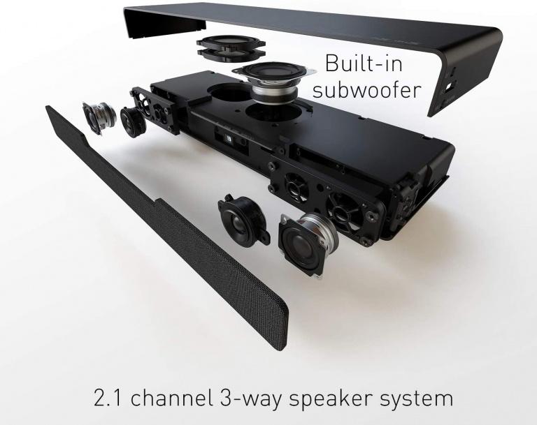 Panasonic SoundSlayer SC-HTB01 review: a compact and surprisingly powerful PC soundbar