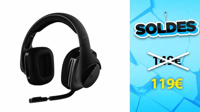 Soldes Logitech : Casque Gaming G533 à prix compétitif