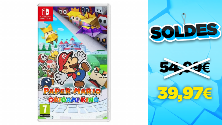 Soldes Nintendo : Paper Mario : The Origami King en réduction à -27%