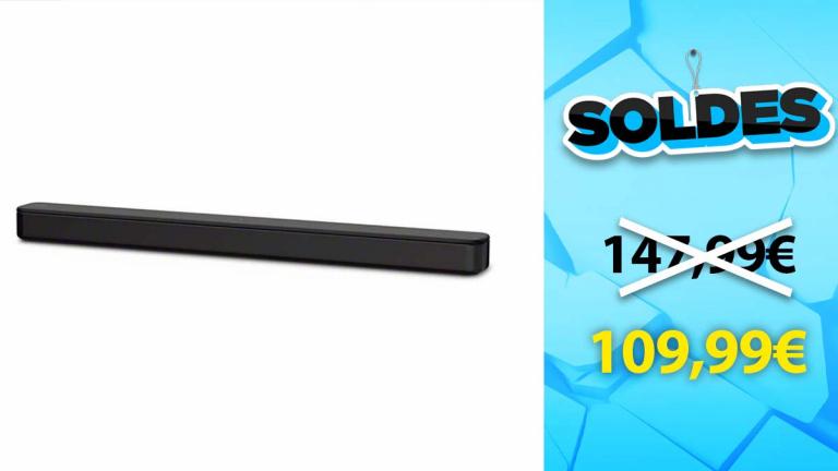 Soldes Sony : La barre de son Bluetooth à prix compétitif