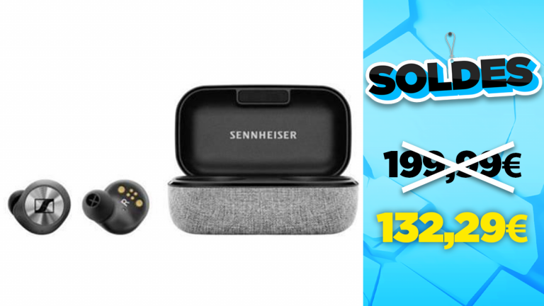 Soldes Sennheiser : Les Momentum Wireless IE M3 en réduction à -33%