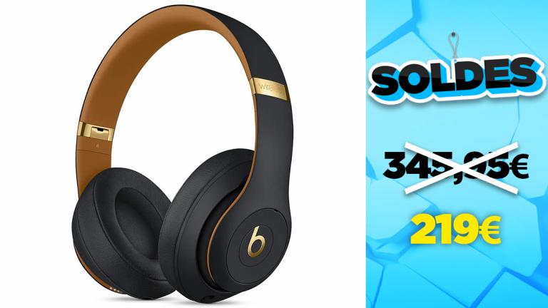 Soldes Beats by Dr. Dre : Le casque Beats Studio3 en réduction à -37%