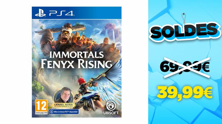 Soldes PS4 : Immortals Fenyx Rising en réduction à -39,99€