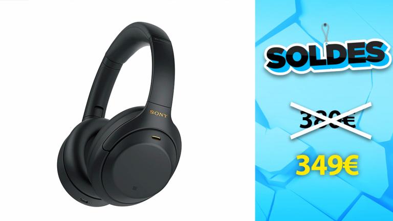 Soldes Sony : Casque Bluetooth à réduction de bruit en promotion