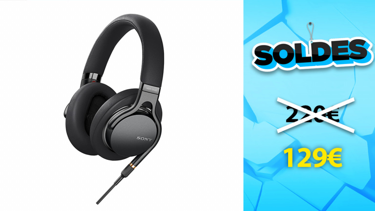 Soldes Sony : Casque audio MDR 1AM2 à un prix super compétitif