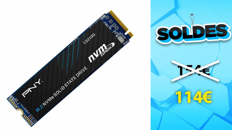 Soldes PNY : SSD NVMe 1 To en promotion de 26%