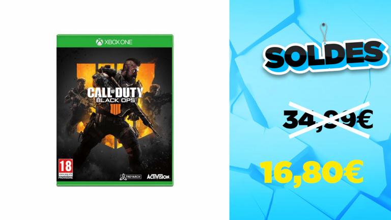 Soldes COD Black Ops 4 sur Xbox One à -52%