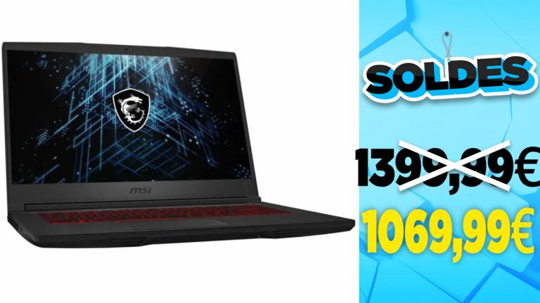 Soldes 2021 : Le PC Portable équipé d'une RTX 3060 à 1099,99€