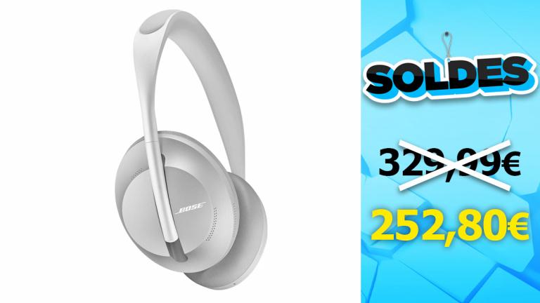 Soldes Audio : le casque Bose Headphone 700 encore moins cher durant la seconde démarque