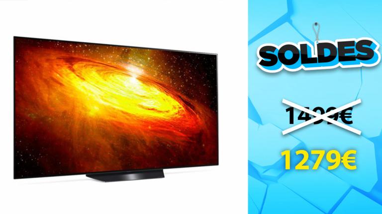 Soldes LG : TV OLED 4K en réduction de 14%