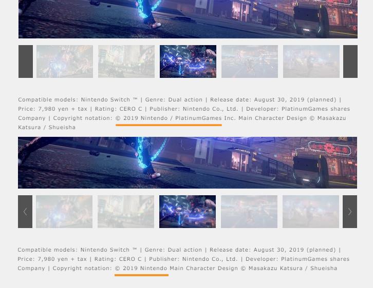 """Astral Chain """"est la propriété intellectuelle de Nintendo"""", déclare PlatinumGames"""
