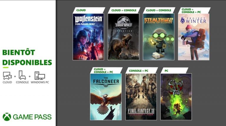 Xbox Game Pass : Final Fantasy XII et Jurassic World Evolution à l'affiche en février