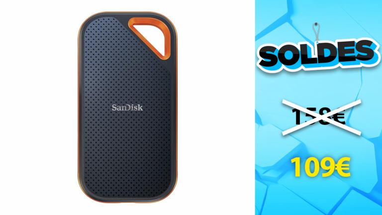 Soldes Sandisk : SSD EXTREME PORTABLE en promotion de 31% chez Amazon