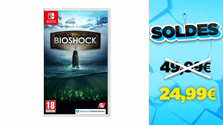 Soldes Nintendo Switch : Bioshock : The Collection en réduction à -50%