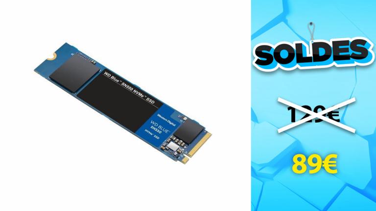 Soldes WD : SSD interne M.2 NVMe 1To à moins de 90€