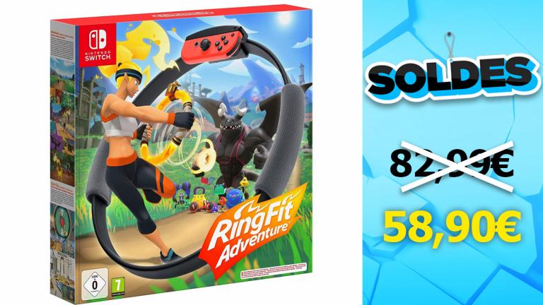 Soldes Switch : Ring Fit Adventure en réduction de presque 30%