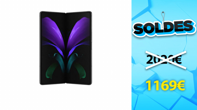 Soldes Samsung : Galaxy Z Fold2 5G en réduction de 42%