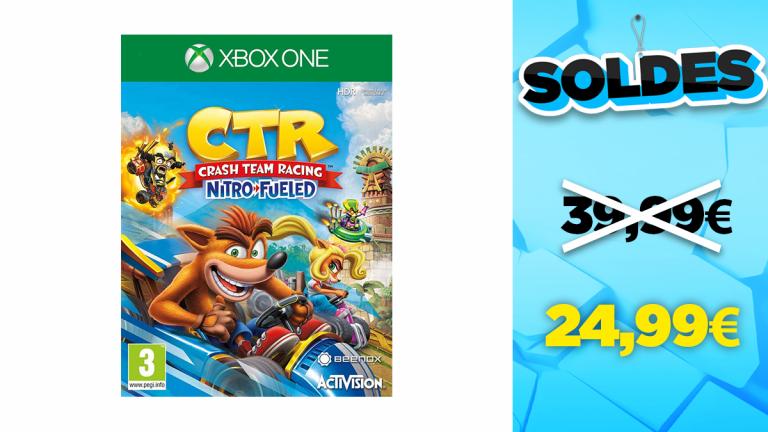 Soldes Xbox One : Crash Team Racing Nitro-Fueled en réduction à -38%