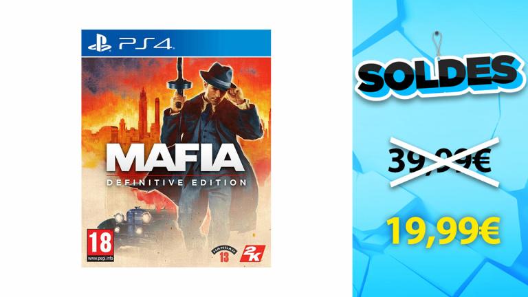 Soldes PS4 : Mafia Definitive Edition en promotion à moins de 20€