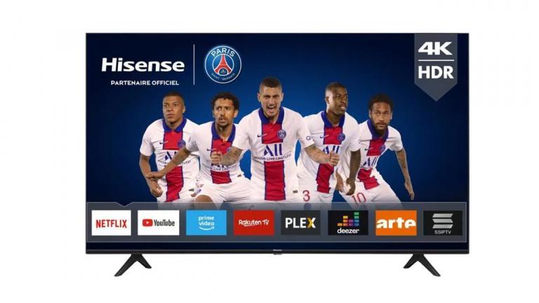 """Promo TV : un modèle 58"""" 4K à moins de 350€ après ODR"""