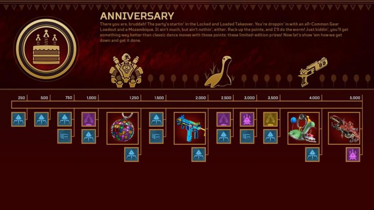Apex Legends, saison 8 : Evènement de Collection Anniversaire, notre guide