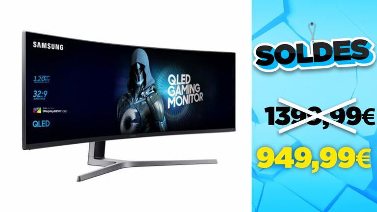 Soldes Samsung : l'écran gamer incurvé 49