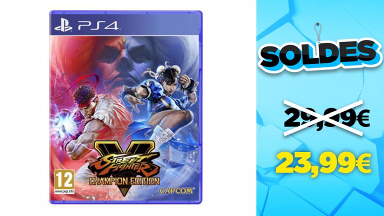 Soldes PS4 : Street Fighter V Champion Edition en réduction à -20%