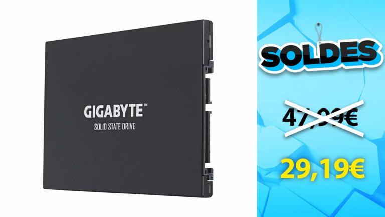 Soldes Gigabyte : SSD interne en promotion de 39% - jeuxvideo.com