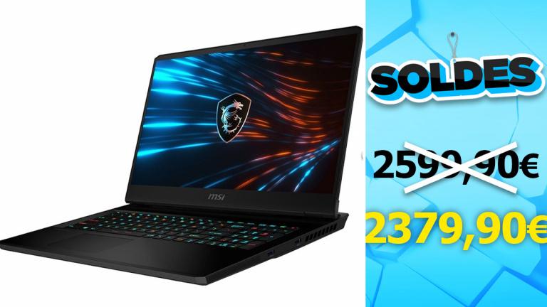 Soldes PC portable RTX 3070 : le MSI GP76 200€ moins cher