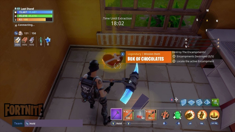 Fortnite Season 5: Collect Boxes of Chocolates in Pleasant Park, Holly Hedges, or Retail Row