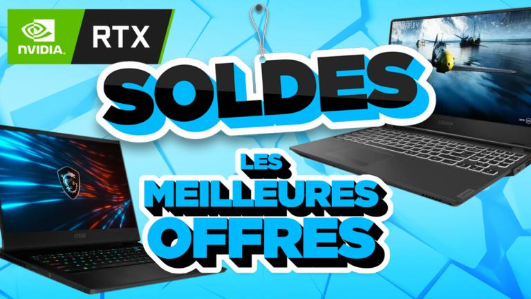 Soldes 2021 : Les meilleurs PC portables avec cartes graphiques RTX 20XX et 30XX - jeuxvideo.com
