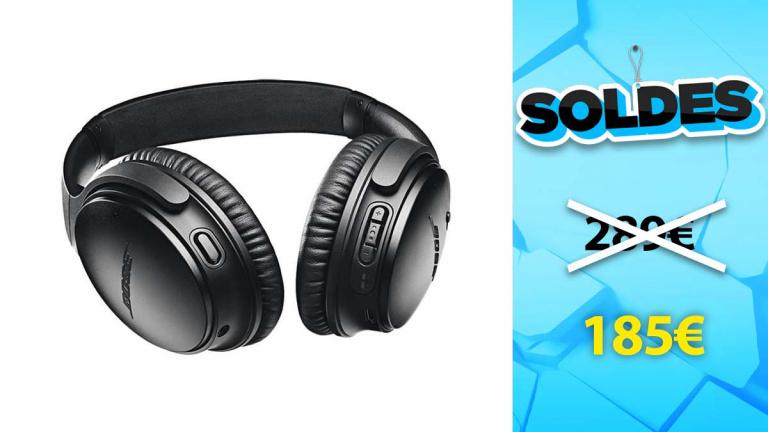 Soldes Bose : le QC35 II sans fil à réduction de bruit en baisse de plus de 100€
