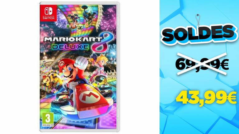 Soldes Nintendo : Mario Kart 8 Deluxe en réduction à -37%