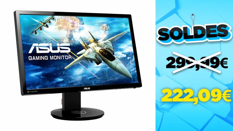 """Soldes Asus : l'écran PC gamer 24"""" FHD 144Hz en réduction à -26%"""