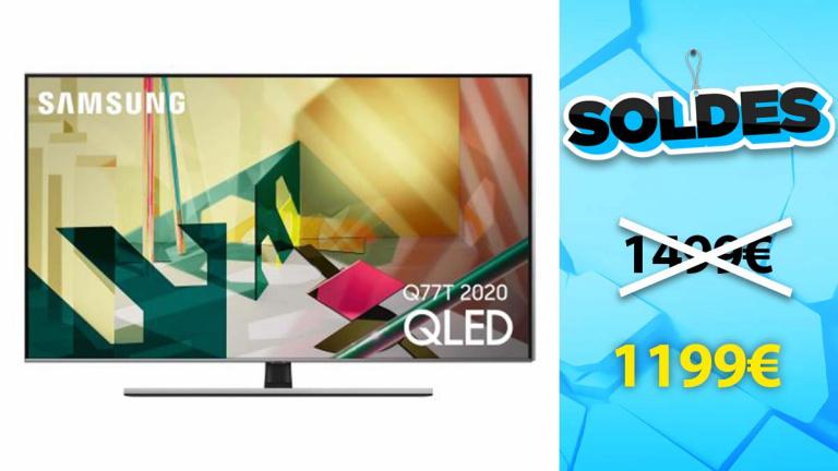"""Soldes Samsung : TV QLED 65"""" en promotion chez la fnac"""
