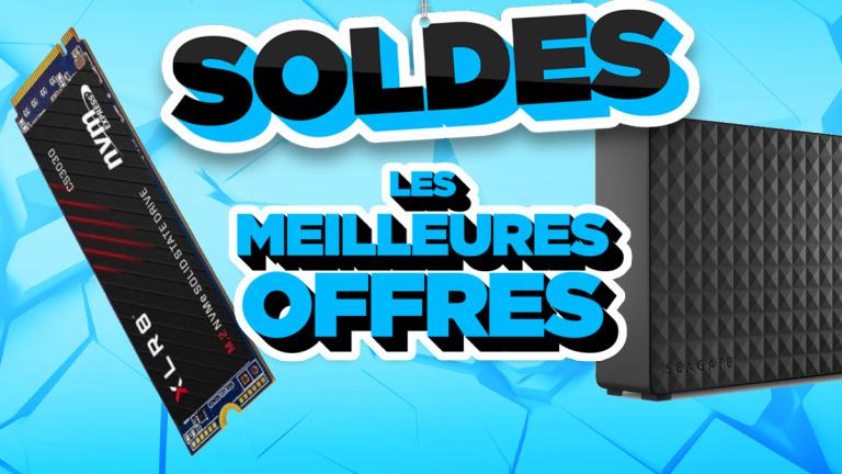 Soldes 2021 : Les meilleures offres en stockage, SSD ou disques durs - jeuxvideo.com