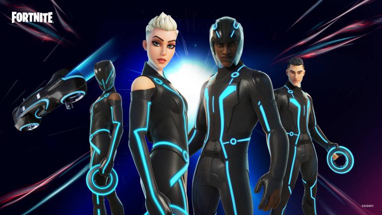 Fortnite rend hommage à Tron Legacy avec de nouvelles tenues