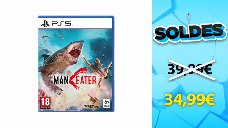 Soldes PS5 : Maneater en promotion de 13%