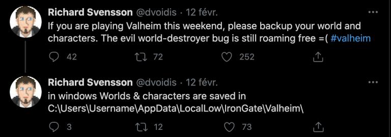 Valheim : attention, un bug fatal pour votre sauvegarde découvert, comment l'éviter