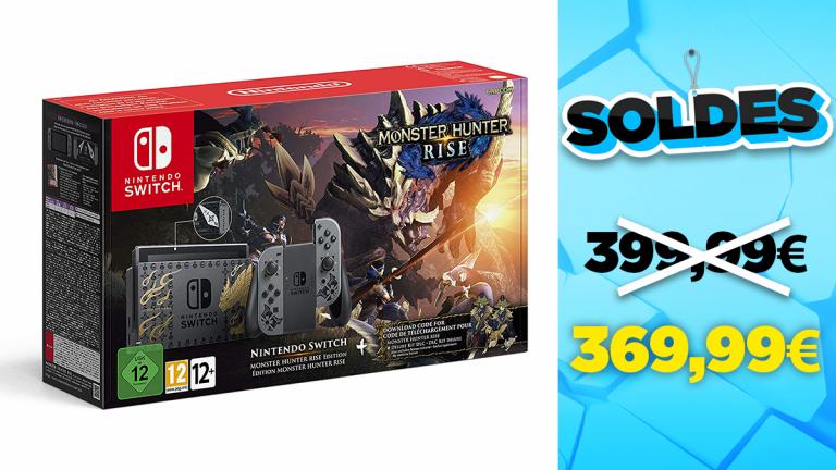 Réduction sur la précommande de la Nintendo Switch Édition Spéciale Monster Hunter Rise