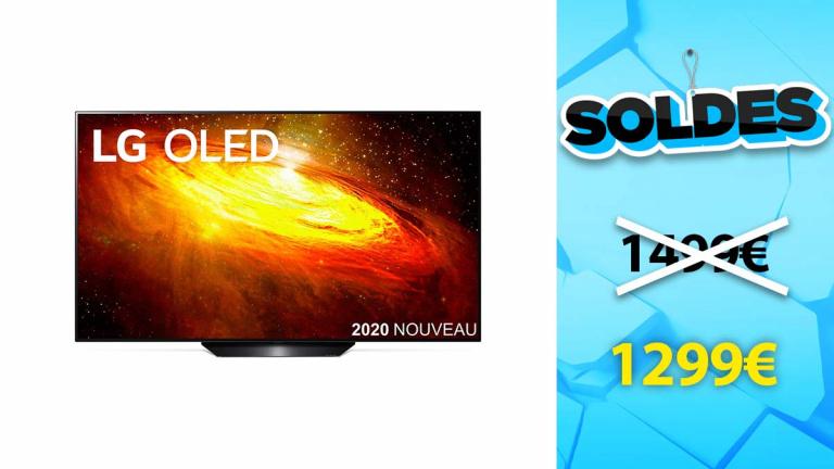 Soldes LG : TV OLED 55BX à moins de 1300€