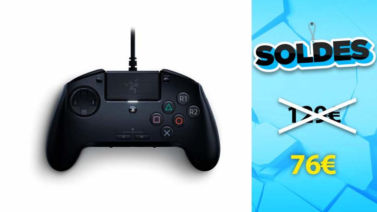 Soldes Razer : Manette Raion PlayStation en promotion de 30%
