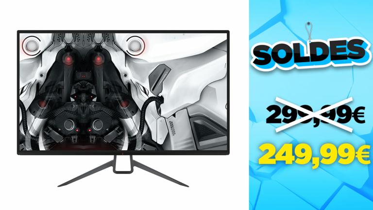 """Soldes Skillkorp : l'écran gamer 32"""" 144Hz en réduction à -16%"""