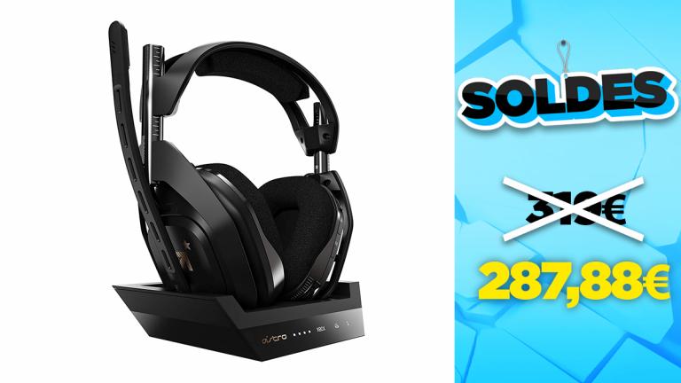 Soldes Astro : le casque Gaming A50 en réduction à -10%